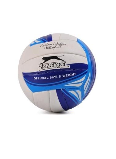 Slazenger Kırmızı-Beyaz Voleybol Topu Mavi